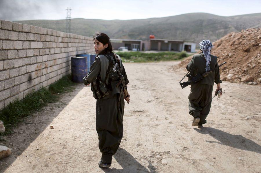 Les femmes kurdes en première ligne