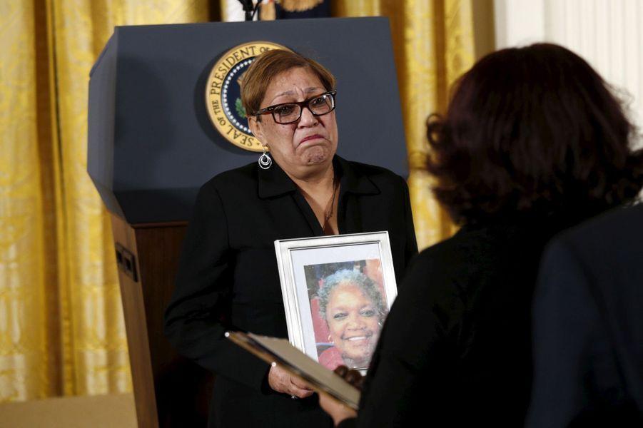 Sharon Risher, la fille d'une des victimes de la tuerie de Charleston