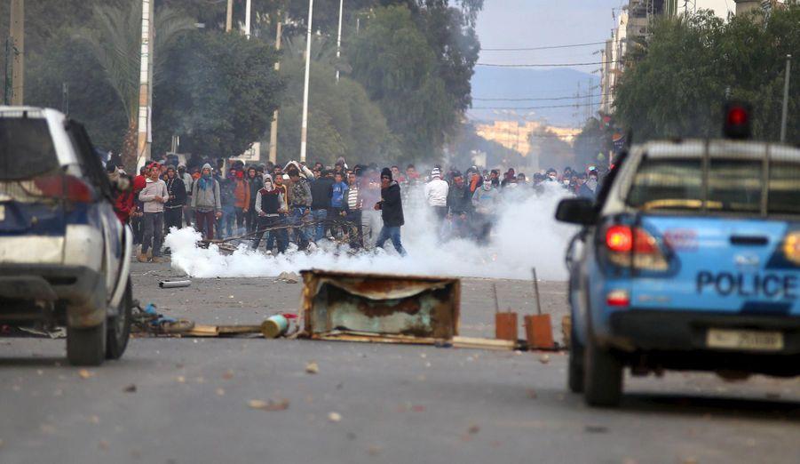 Manifestation à Kasserine jeudi