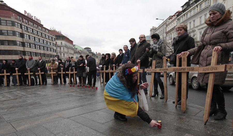 Commémorations à Kiev
