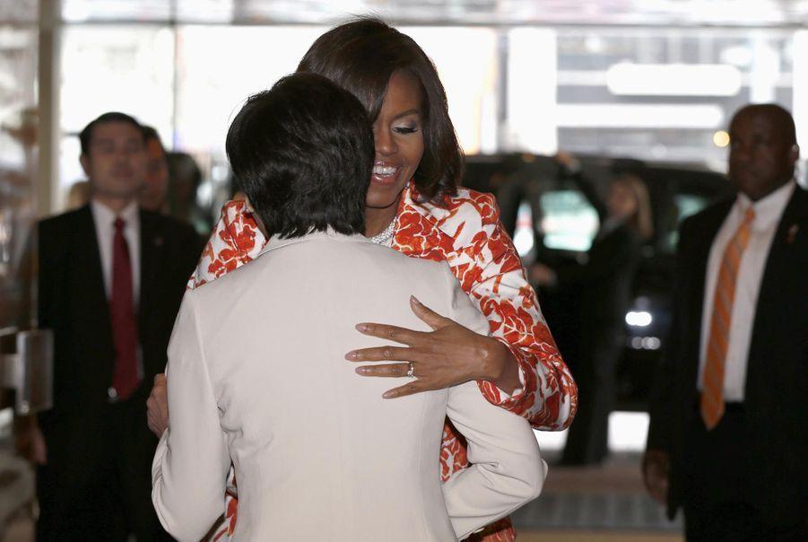 Michelle Obama au Japon pour l'éducation des filles