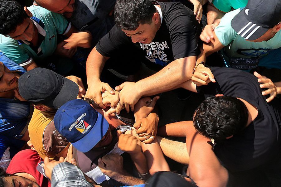 Une bousculade de réfugiés a éclaté sur l'île de Kos