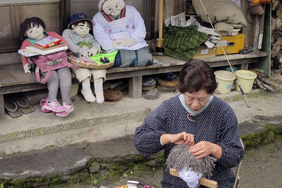 Nagoro, le village fantôme peuplé d'épouvantails