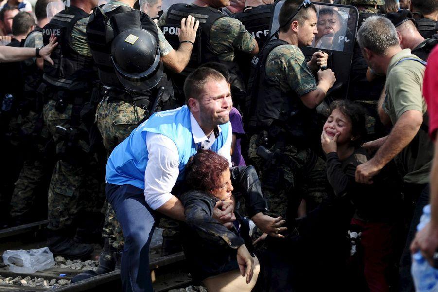 Panique en Macédoine
