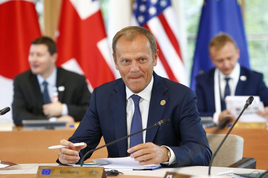Donald Tusk au sommet du G7 en Bavière