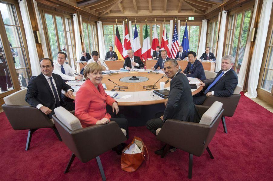 Les participants au sommet duG7 en Bavière