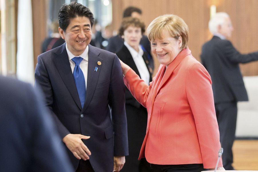 Shinzo Abe au sommet du G7 en Bavière