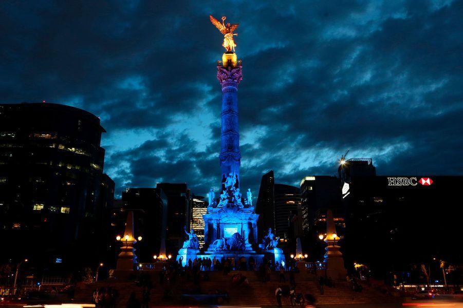 L'ange de l'indépendance à Mexico