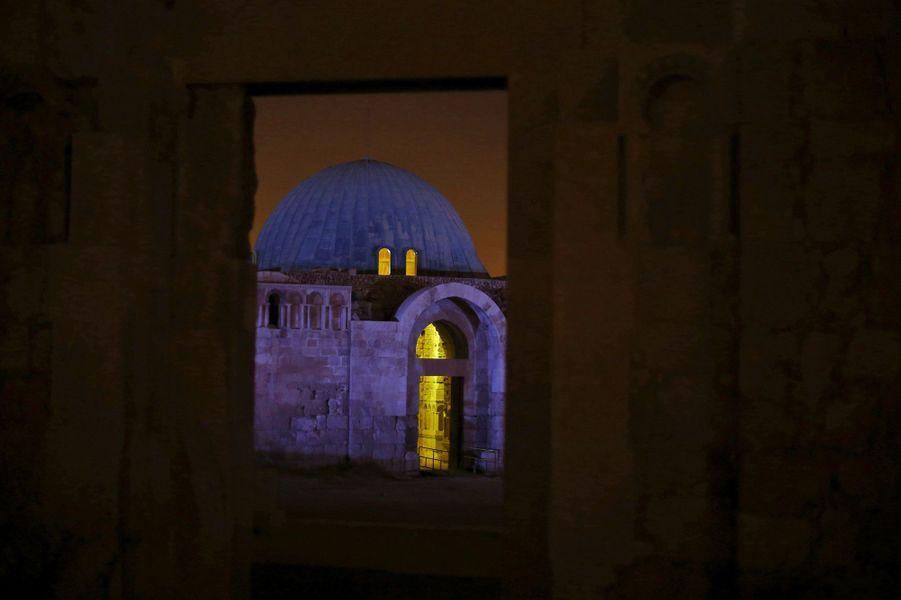 La citadelle de Amman en Jordanie