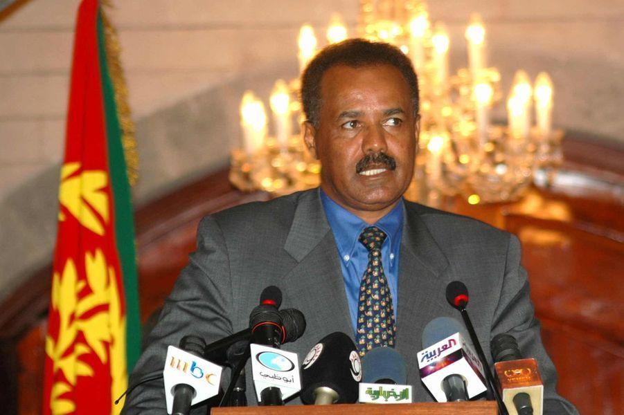 Issayas Afeworki (Erythrée depuis 1993)