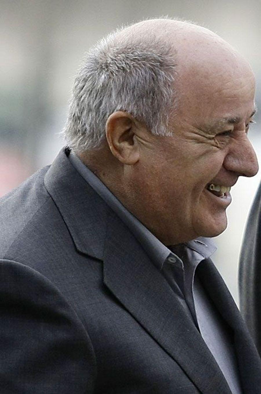Amancio Ortega, 64,5 milliards, Espagne, Zara