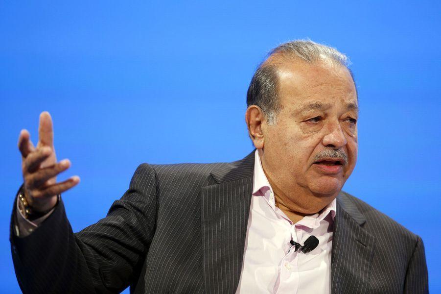 Carlos Slim, 77,1 milliards, Mexique, télécoms