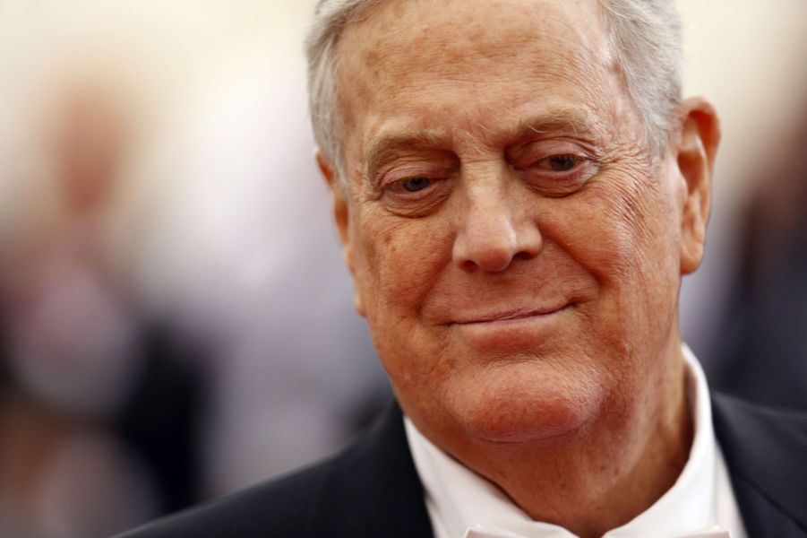 David Koch, 42,9 milliards, USA, Koch Industries