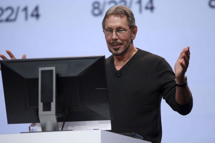 Larry Ellison, 54,3 milliards, USA, Oracle