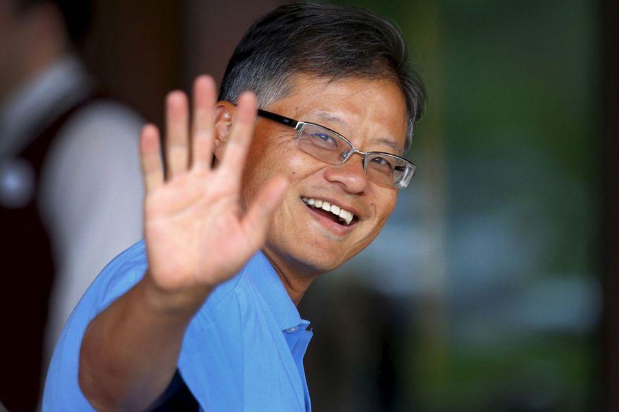 Jerry Yang, co-fondateur et ancien PDG de Yahoo