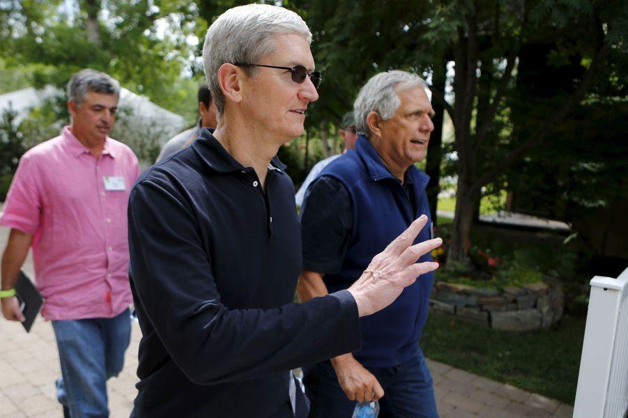Le PDG d'Apple Tim Cook