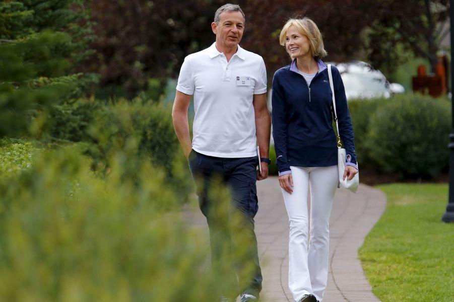 Le PDG de Disney Bob Iger et sa femme Willow Bay