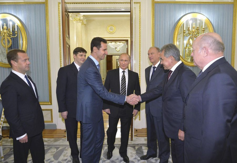 Visite surprise de Bachar El-Assad à Moscou