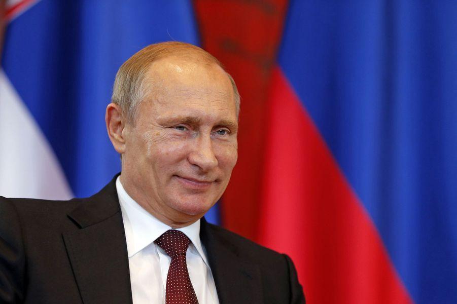 N°1: le président russe Vladimir Poutine