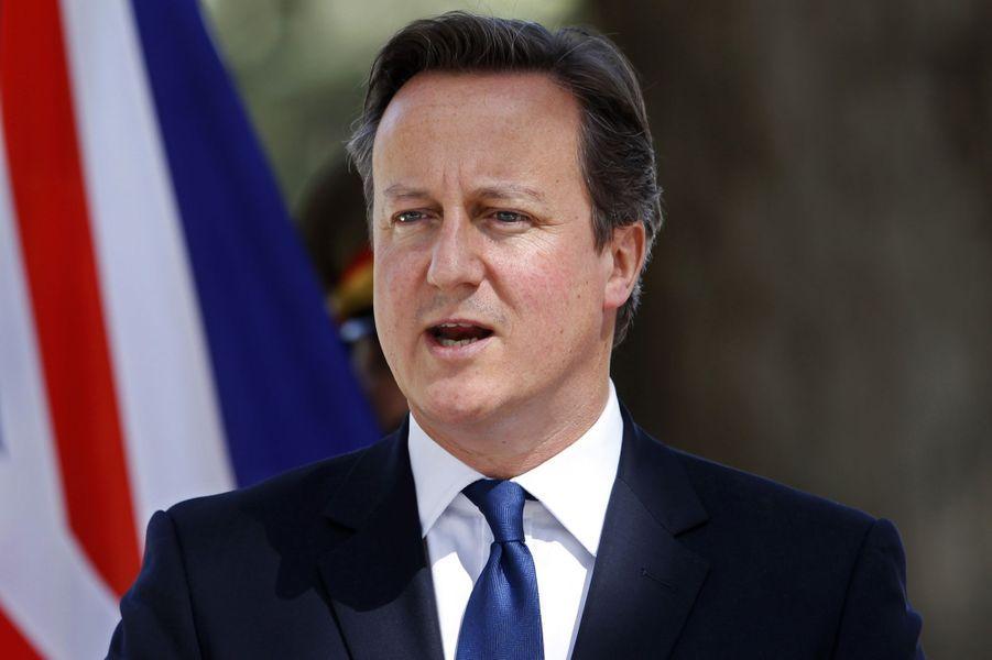 N°10: le Premier ministre britannique David Cameron