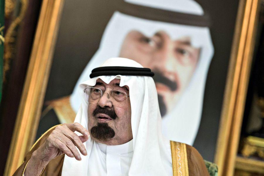 N°11: le roi d'Arabie Saoudite Abdullah bin Abdul Aziz al-Saoud