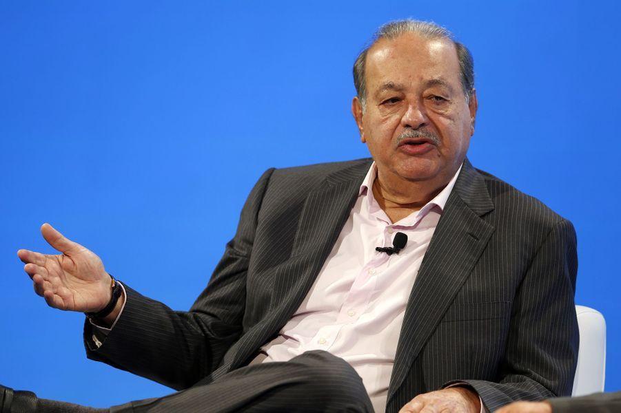 N°14: l'homme d'affaires Carlos Slim