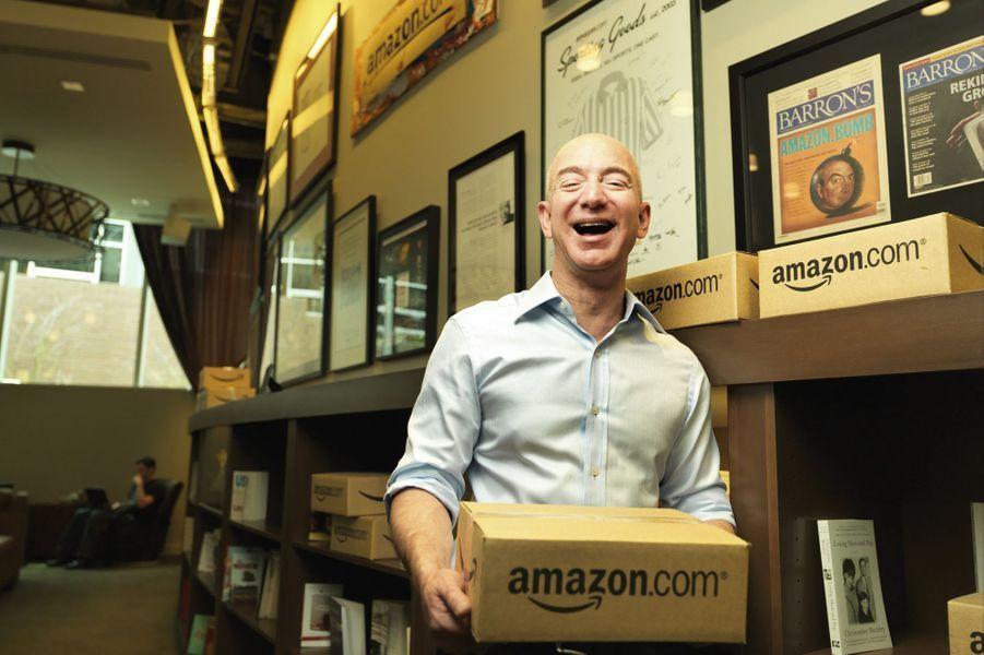 N°16: le PDG d'Amazon Jeff Bezos