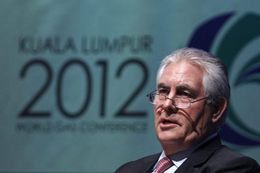 N°20: le PDG d'ExxonMobil Rex Tillerson