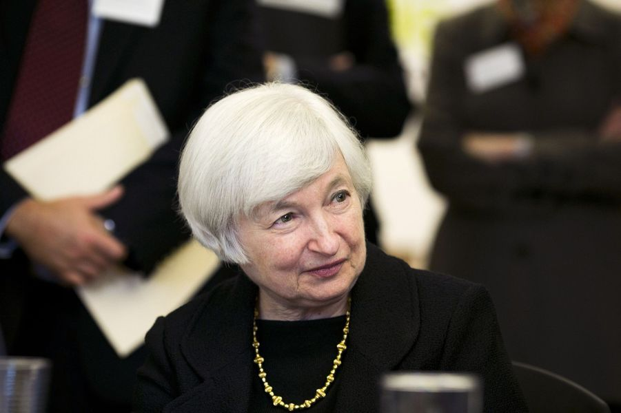 N°6: la présidente de la Réserve fédérale américaine Janet Yellen