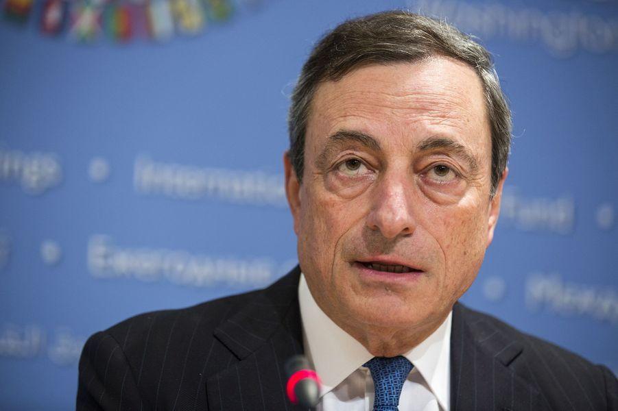 N°8: le président de la Banque centrale européenne Mario Draghi