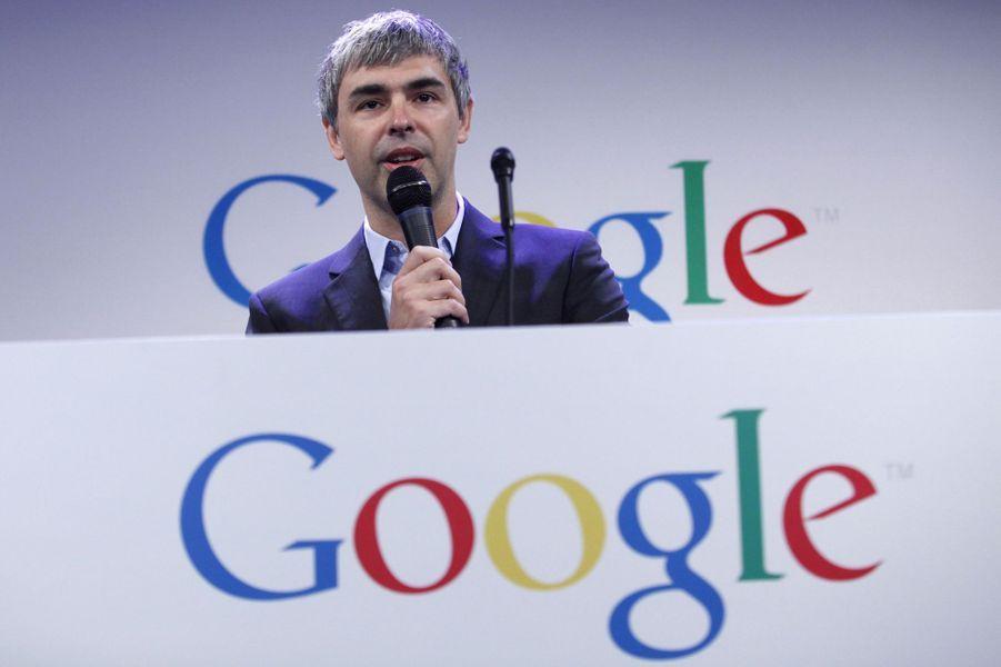 N°9: le PDG de Google Larry Page