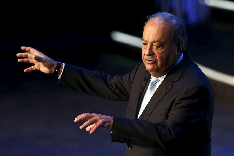 L'homme d'affaires mexicain Carlos Slim