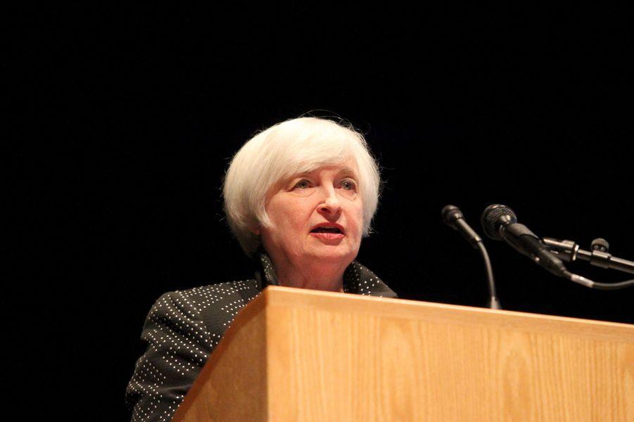 La présidente du Conseil des gouverneurs de la Réserve fédérale des États-Unis Janet Yellen