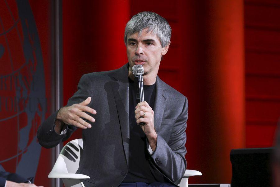 Le fondateur de Google Larry Page