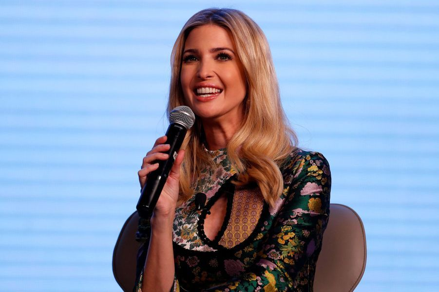 Ivanka Trump au Global Entrepreneurship Summit à Hyderabad, en Inde, le 28 novembre 2017.