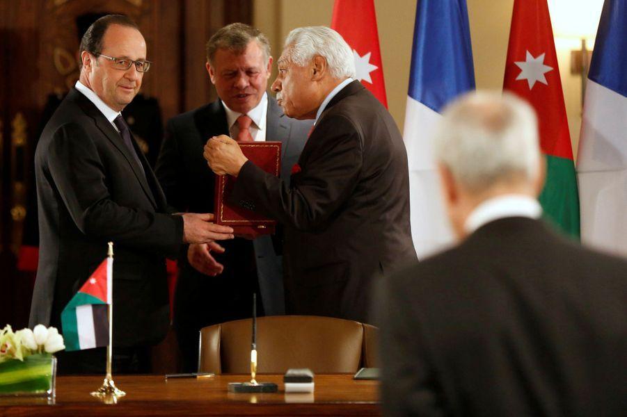 En Jordanie, François Hollande s'inquiète pour la Syrie