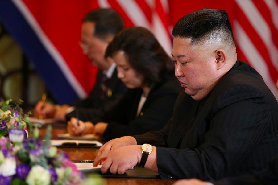 Kim Jong-un à Hanoï, le 28 février 2019.