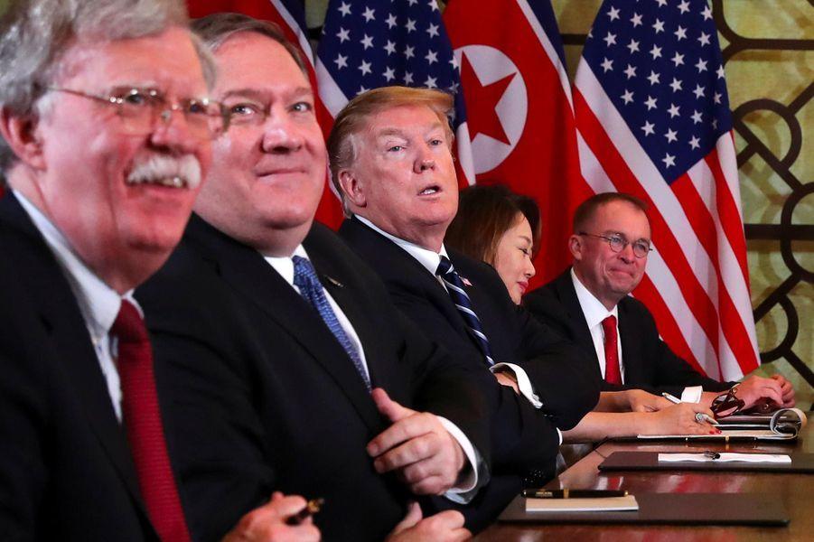 Donald Trump à Hanoï, le 28 février 2019.