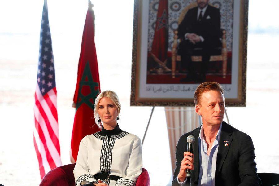 Ivanka Trump à Rabat, au Maroc, le 7 novembre 2019.