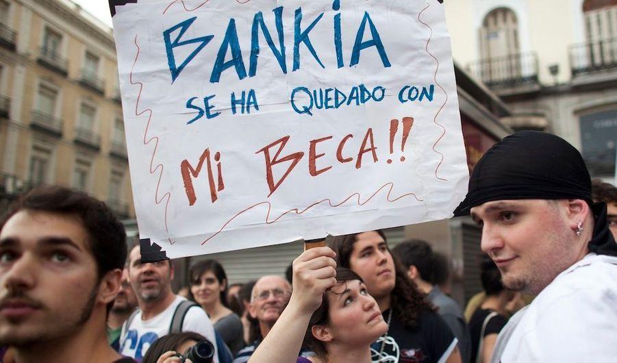 """La banque a pris ma bourse!!"""
