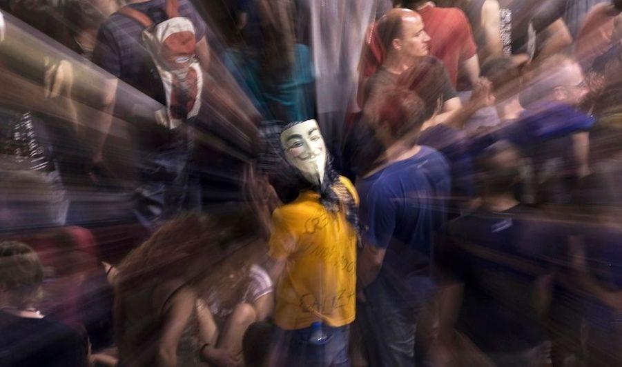Le masque de Guy Fawkes