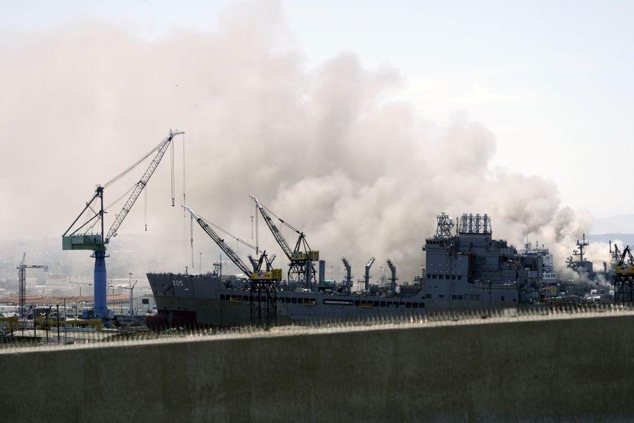 Le port militaire de San Diego.