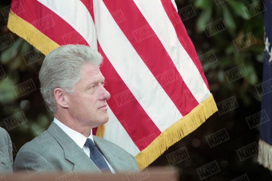 Bill Clinton à la Maison Blanche, le 7 août 1998.