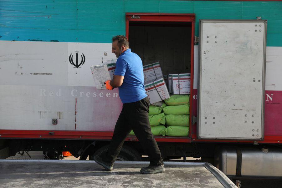 """Hassan Rohani s'est engagé à apporter une """"aide médicale"""" au Liban."""