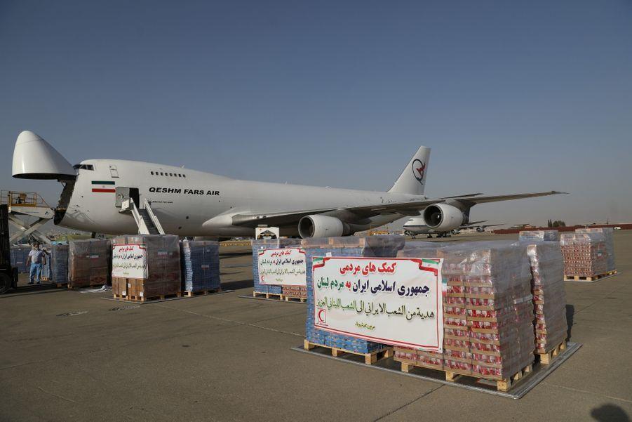 L'Iran a aussi envoyé son aide au Liban.