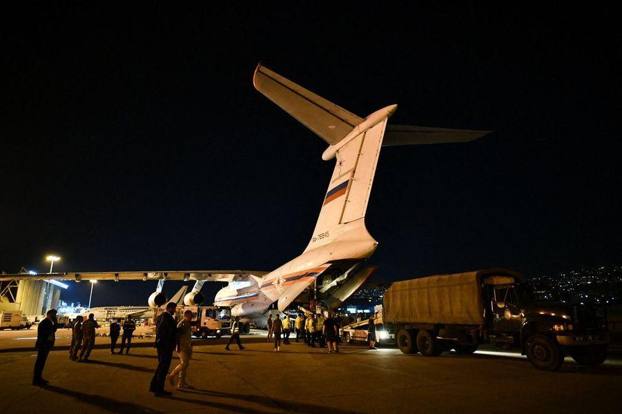 Les Russes arrivent au Liban.