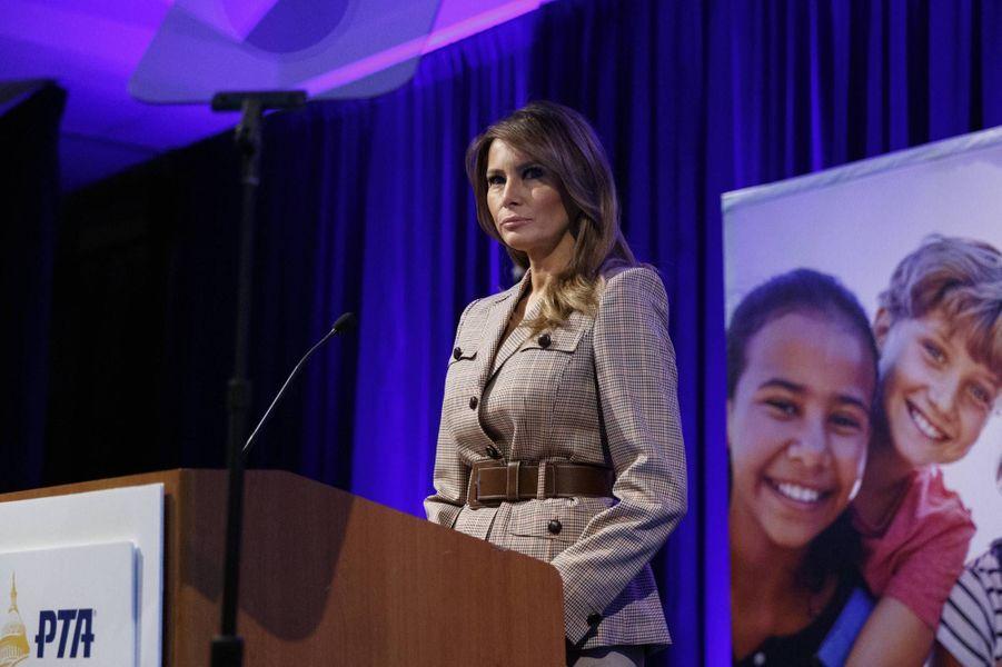 Melania Trump à Alexandria, en Virginie, le 10 mars 2020.