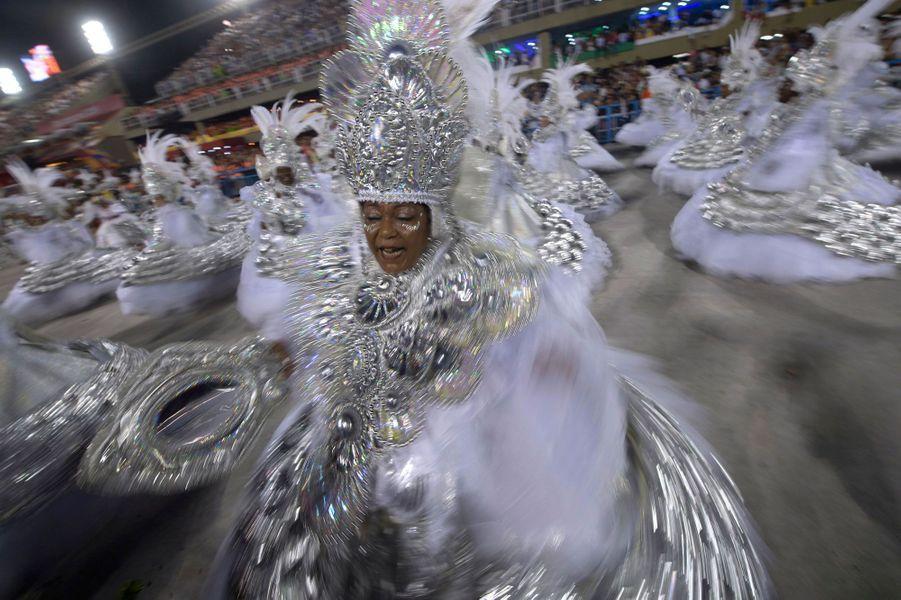 Le carnaval de Rio de Janeiro, le 4 mars 2019.