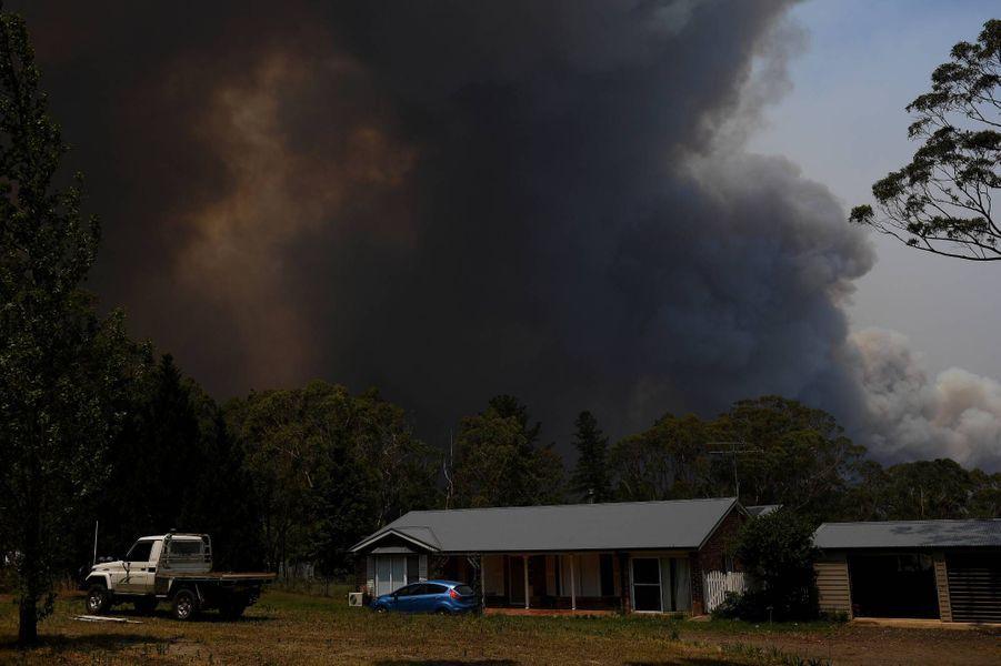 Incendie àBilpin, enNouvelle-Galles du Sud, le 21 décembre 2019.