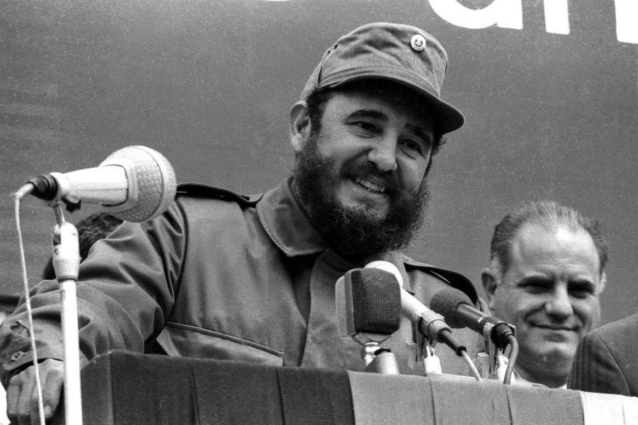 Fidel Castro, photographié en 1972.